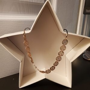 Aldo Adjustable Rose Gold Necklace BNWOT